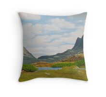 Assynt - Suilven And Canisp Throw Pillow