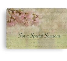 Cherry Blossom Thoughts Canvas Print