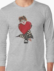 Sad Clown Long Sleeve T-Shirt
