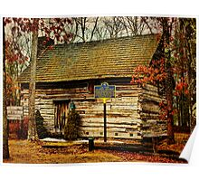 Forestburgh NY Primitive Cabin Poster