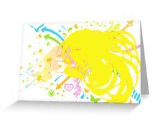 Fluff_of_a_Dandelion Greeting Card
