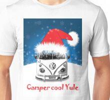 VW Camper Camper Cool Yule Christmas Unisex T-Shirt