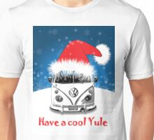 VW Camper Cool Yule Card Unisex T-Shirt