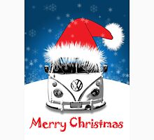 VW Camper Merry Christmas Card Unisex T-Shirt