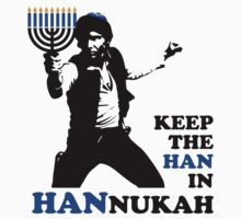 Keep the Han in Hannukah Baby Tee