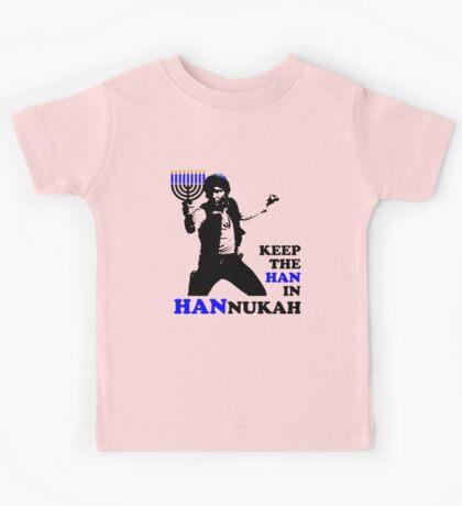 Keep the Han in Hannukah Kids Tee