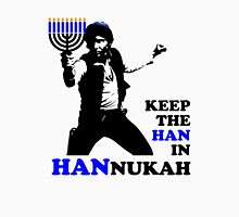 Keep the Han in Hannukah Men's Baseball ¾ T-Shirt