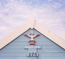 Beach hut ~ Phoenix by Zoe Power