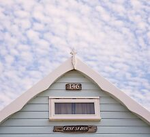 Beach hut ~ C'EST SI BON by Zoe Power