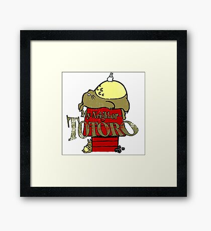 Neighbor Totoro Framed Print