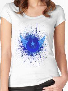 New lunar republic splash Women's Fitted Scoop T-Shirt