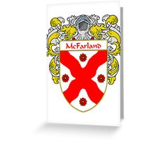 McFarland Coat of Arms/Family Crest Greeting Card