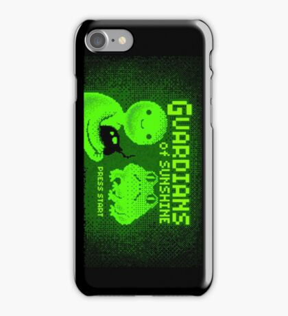 Adventure Time Gaurdians of Sunshine Title Card Phone Case iPhone Case/Skin