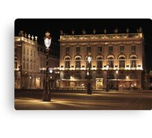 Place Stanislas, Nancy, France Canvas Print