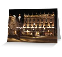 Place Stanislas, Nancy, France Greeting Card