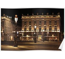 Place Stanislas, Nancy, France Poster