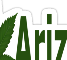 0201 I Love Arizona  Sticker