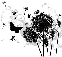 Dandelion by auraclover