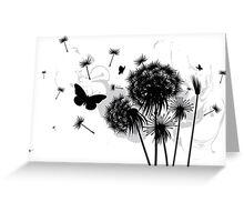 Dandelion Greeting Card