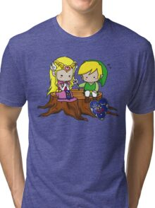Zelda Link Love Tri-blend T-Shirt