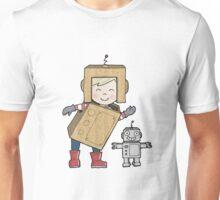 Cardboard Kid Robot (Little Stars Collection) Unisex T-Shirt