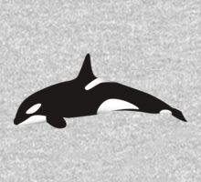 Orca - Killer Whale  One Piece - Long Sleeve