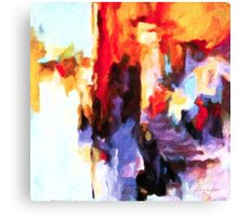 Seven Steps Abstract Canvas Print