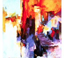 Seven Steps Abstract Photographic Print