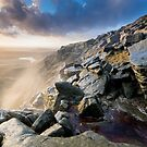 Kinder Downfall Sunset by James Grant