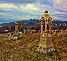 Cemetery View In Coalville by Brenton Cooper