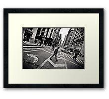 Broadway & 26th Framed Print