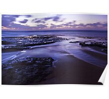 Sunset at Green Point Poster