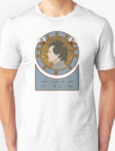 Will Graham Nouveau Portrait Unisex T-Shirt