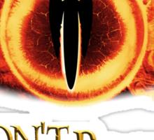 Sauron, don't blink Sticker