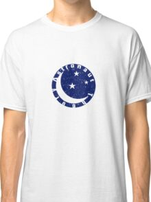 Distressed Astronaut Theory Logo Classic T-Shirt