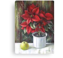 Christmas colors  Canvas Print