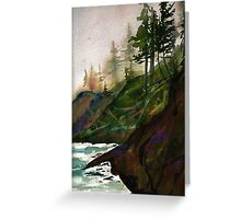 Washington Coast Greeting Card