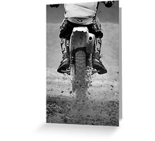 Moto x iPhone iPad case Greeting Card