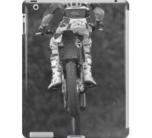 Moto x bike getting air time iPad Case/Skin
