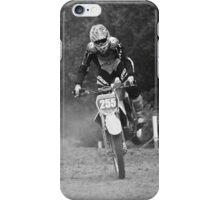 Dirt bike landing nose down iPhone Case/Skin