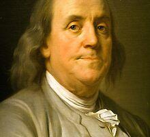 Benjamin Franklin by Thad Zajdowicz