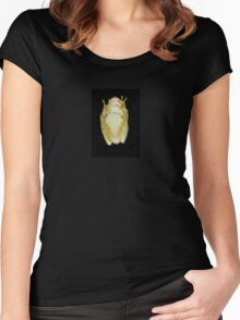 Underbelly The Soft Underside or Abdomen Of A Tree Frog. Women's Fitted Scoop T-Shirt