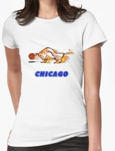 Chicago Premium t-shirt & stickers Womens Fitted T-Shirt