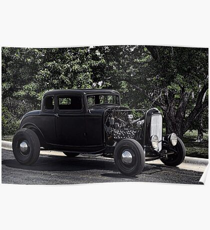 1932 Ford Hot Rod Poster