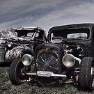 1936 Chevrolet and 1939 Chevrolet Rat Rod Pickup Trucks by TeeMack