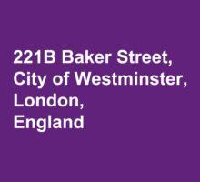 221B Baker Street by Sophie Beresford
