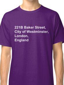 221B Baker Street Classic T-Shirt