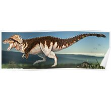 Tyrannosaurus Rex Finished Reconstruction Poster