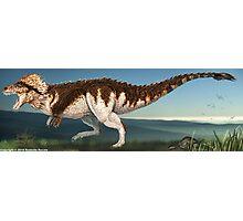 Tyrannosaurus Rex Finished Reconstruction Photographic Print
