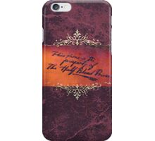 Half-Blood Prince Phone Case iPhone Case/Skin